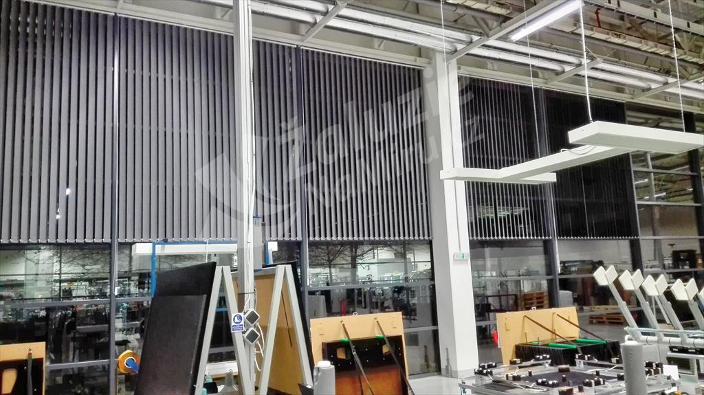 Vertikální žaluzie - Bang&Olufsen Kopřivnice